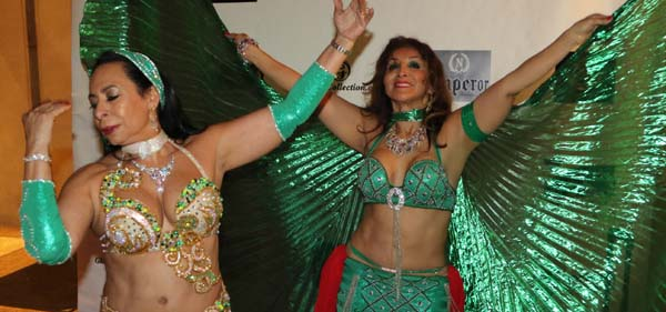 Our entertainment Belly Dancer Judy Borman & Gina Vasquez