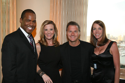 Victor Blackwell & Tiffany Kenney and Mo Foster & Sally Sevareid