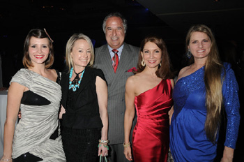 Paula Roman, Robin Cofer, Stewart Lane, Jean Shafiroff,and