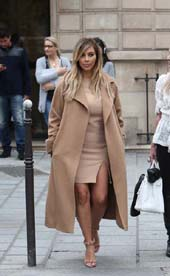 Kim Kardashian.  Photo courtesy Max Mara