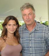 Alec Baldwin, Hilaria Baldwin... Photo by:  Richard Lewin