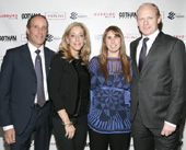 "Warburg Realty's Richard Steinberg, Renee Steinberg, Carolina Hogg and Espais Corporation's Andres Hogg celebrated at the HGTV premiere of ""Selling New York"" event featuring luxury building TWENTY 9th Park Madison at Asellina at the Gansevoort Park Avenue"
