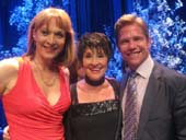 04-09-13 (L-R) Dee Hoty. Chita Rivera. Jack Noseworthy at the Marty Richards Memorial at the Edison Ballroom. Photo by:  Aubrey Reuben