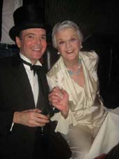 "04-02-12 Cast members Jefferson Mays and Angela Lansbury at the opening night party for ""Gore Vidal's The Best Man"" at Brasserie 9. 9 West 57th St. 04-01-12"
