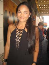 "08-07-15 Karen Olivo at the opening night of ""Hamilton"" at the Richard Rodgers Theatre. 226 West 46th St. .  Photo by:  Aubrey Reuben"