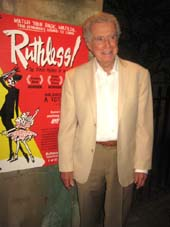 "15 Regis Philbin attends the opening night of ""Ruthless!"" at the St. Luke's Theatre. 308 West 46th St. Monday night. 07-13-15.  Photo by: Aubrey Reuben"