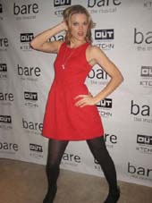 "12-07-12 Cast member Missi Pyle at the opening night party for ""Bare"" at KTCHN at the OUT Hotel"