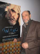 "02-24-12 Cast member F. Murray Abraham at the opening night party for ""Galileo"" at Pangea Restaurant. 178 2nd Ave. Thursday night 02-23-12"