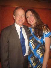 "01-14-13 Cast members Reed Birney and Elizabeth Marvel at the opening night for ""Picnic"". the American Airlines Theatre"