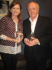 06-11-14 Mare Winningham and Peter Maloney receive the Richard Seff Awards at Actors' Equity Office. 165 West 46th St. Tuesday afternoon. .  Photo by:  Aubrey Reuben