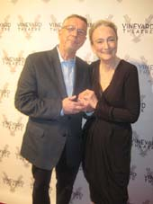 03-19-16 Sam Rudy and Kathleen Chalfant were honored at the Vineyard Theatre 2016 Gala at the Edison Ballroom. 240 West 47th St. Monday night 03-14-16.  Photo by:  Aubrey Reuben