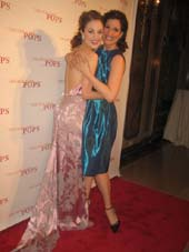 04-30-13 Performers Laura Osnes (L) and Stephanie J. Block at the The New York Pops 30th Birthday Gala at the Plaza Hotel. Fifth Ave. & Central Park South. Photo by:  Aubrey Reuben