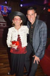 """Birthday Boy"" Ian Reisner with his mother Rose.  Photo by:  Rose Billings"