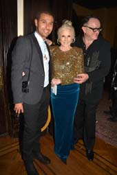 Fabrizio Arrieta, Dianne Bernhard and Andrew Martin.  photo by:  rose billings
