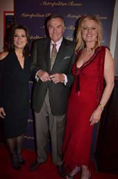 Denise Donatelli, Peter Marshall and Carol Weisman at The Metropolitan Room for Television Icon Peter Marshall returns to his show Biz Roots in first major nightclub appearance in 60 years The five time Emmy Award-winning host of The Hollywood Squares