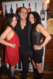 Donna Agostino, Edward Alava and Maria Velissaris.  photo by:  rose billings