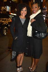 Allysa Shorte and Monique Smith.  photo by:  rose billings