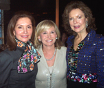 sharon bush, Jean Shafiroff, Margo  Langenberg