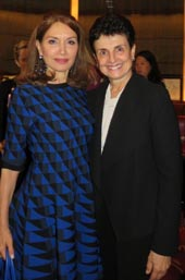 Philanthropist Jean Shafiroff and Ana L. Oliveira, President & CEO of NYWF.   Photo by:  Joyce Brooks/Blacktiemagazine.com