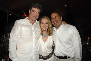 Jay McInerney, Anne Hearst, Governor David Patterson