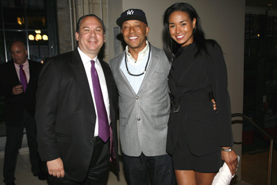 Rabbi Marc Schneier, Russell Simmons and Katie Post