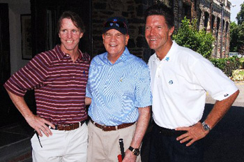 Kevin Murray, Event Co-Chair, Bob Wright, Co-Founder of Autism speaks, and Stone Phillips, Co-Anchor of Dateline NBC.
