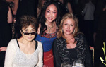 Yoko Ono, Lucia Hwong-Gordon, Kathy Hilton, Women's Project Presents women of achievement.