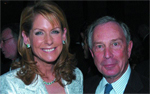 Perri Peltz, Mayor Michael Bloomberg, The Irvington Institute for Immunological Research