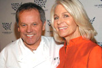 Wolfgang Puck, Frances Hayward, Hollywood goes Humane