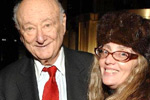 His Honor Mayor Ed Koch and Joyce Brooks, Editor-in-Chief, Black Tie International Magazine.
