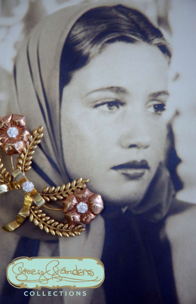 Eva Beale, Grey Gardens Collection, brooch