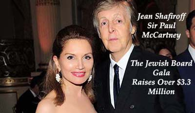 jean shafiroff, paul mc cartney