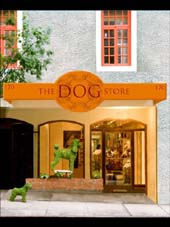 the dog store