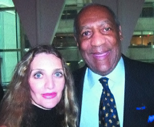 Joyce Brooks with Bill Cosby at The Opening of Le Cirque.