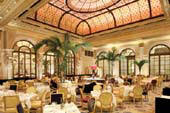 The Palm Court.  Photo courtesy of the Plaza Hotel