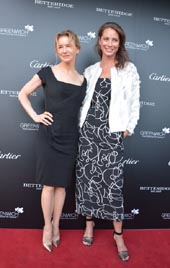 Renee Zellweger and Christy Turlington.  Photo by:  Rose Billings/Blacktiemagazine.com