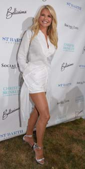 Christie Brinkley.  Photo by:  Rose Billings/Blacktiemagazine.com