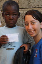 Step By Step Foundation, Danilea and little boy from Haiti