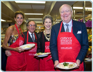 Somers Farkas & Jonathan Farkas, and Lee & Jamie Niven go �Through the Kitchen� at The Four Seasons to benefit the Irvington Fellowship Program of the Cancer Research Institute