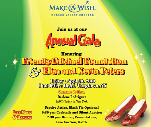 Make A Wish Hudson Valley Chapter Annual Gala