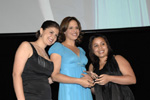 "Soledad O'Brien, CNN Anchor and Special Correspondent (center) will serve as emcee at Big Brothers Big Sisters of NYC's 31st Annual Sidewalks of New York Gala. This year's gala which celebrates ""The Power to Change Lives"" will be held on April 26th at The Waldorf Astoria. The fundraising efforts of this gala are vital to sustaining its mentoring programs that help NYC children"