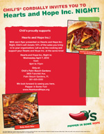 Hearts and Hope Inc Night at Chilis Palm Beach Gardens