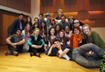 Liv Ullman Master Class with 2010 YoungArts Theater Finalists