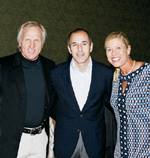 Greg Norman, Matt Lauer, Michelle McGann