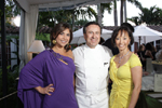 Co-Chairman Nadine Allen, Chef Daniel Boulud and Rosa Feeney, Share Our Strength