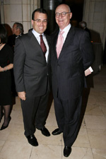 Anthony Mann, Board of Trustees President of JBFCS (left) and