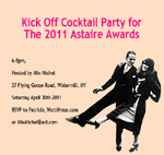 Kick-off Cocktail Party for The 2011 Astaire Awards