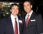 Dan Levine, Metro Business Vice Chair; Bryan Drowos, Metro Board Member