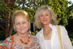 Loraine Boyle and Blythe Danner (2010).  Photo by:  Richard Lewin