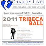 Charity Lives Sponsors NYAA 2011 Tribeca Ball